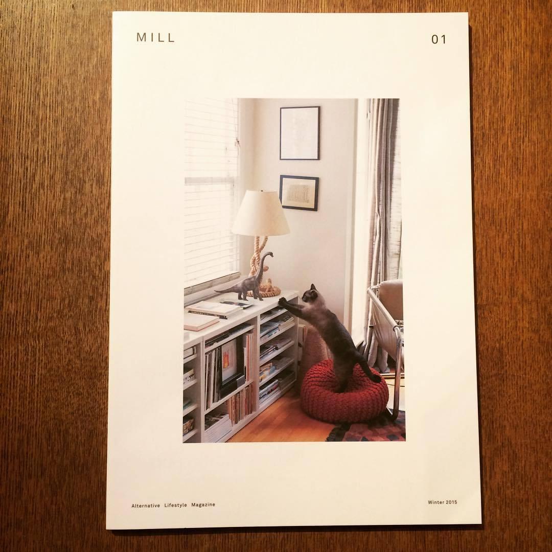 猫のリトルプレス「MILL Issue 01、02 2冊セット」 - 画像2