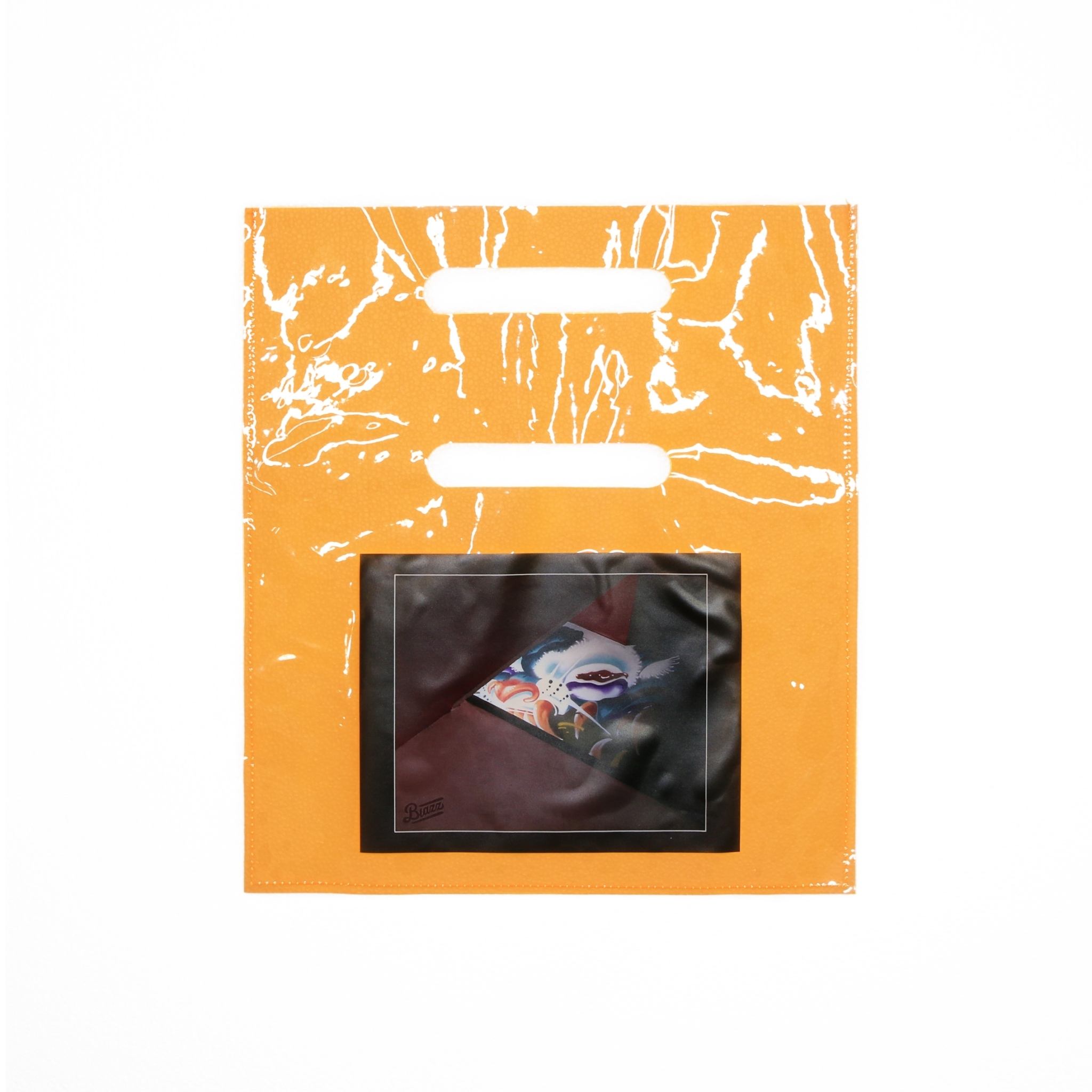 ATOMONE PVC RENTAL SHOP BAG [ORANGE]