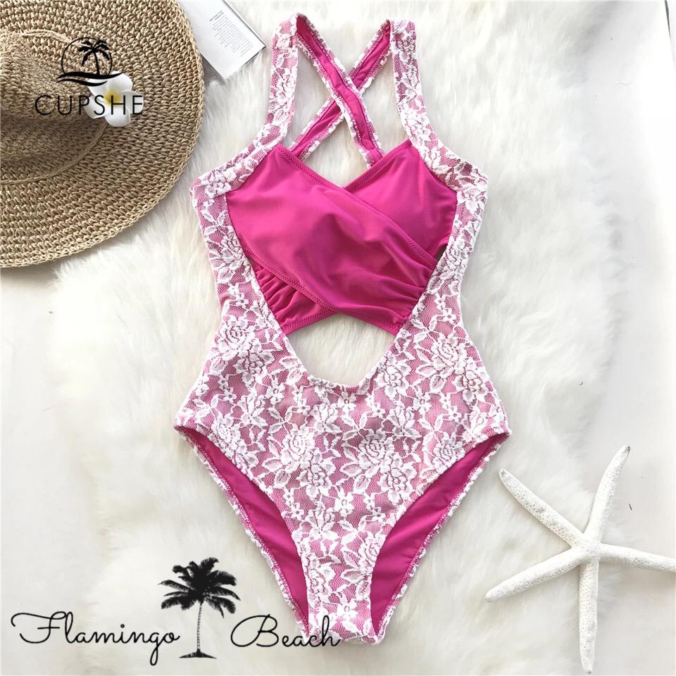 【FlamingoBeach】lathe monokini