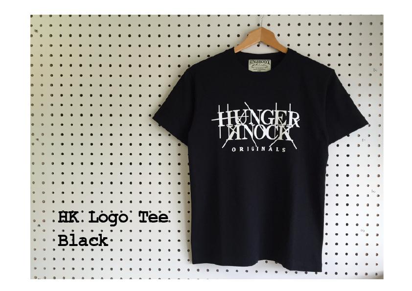 HK Logo Tee / Black