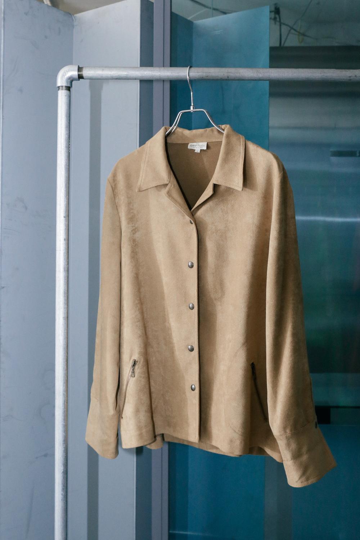 80's Italian Backskin Jacket