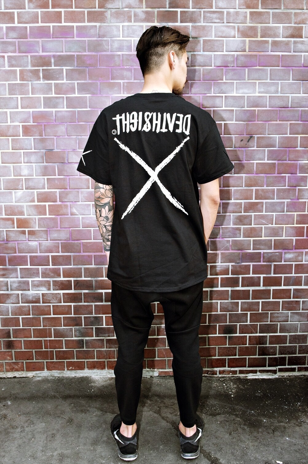 """deathsight"" Tees / BLACK - 画像4"