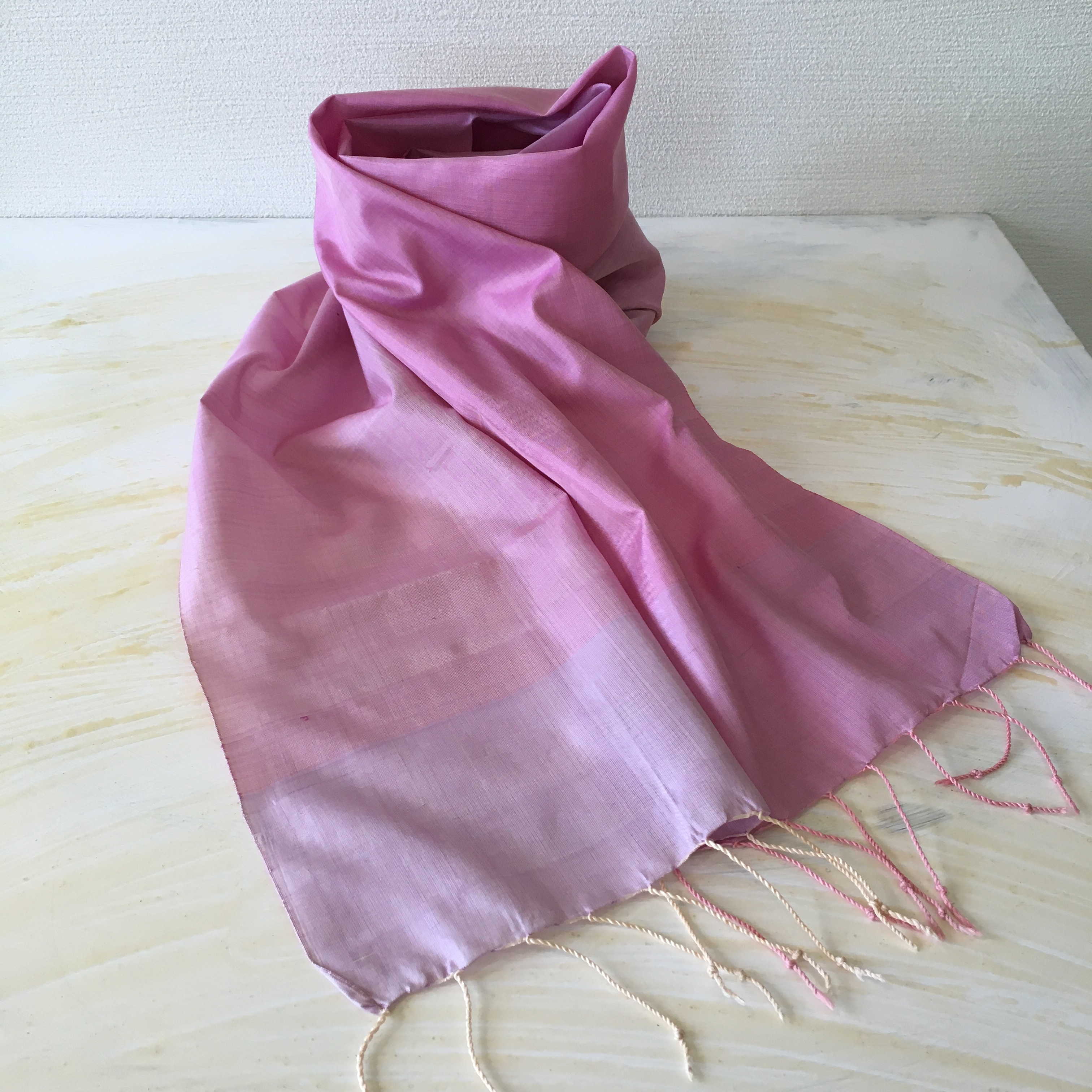 バンジー×紫蘇 カンボジアシルクショール