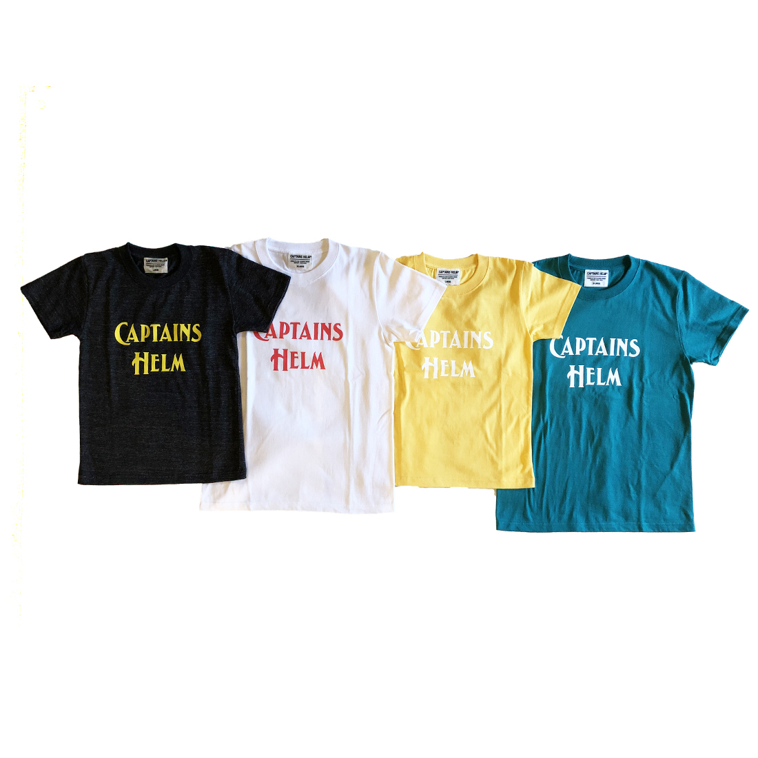 CAPTAINS HELM #Logo Tee-Kids