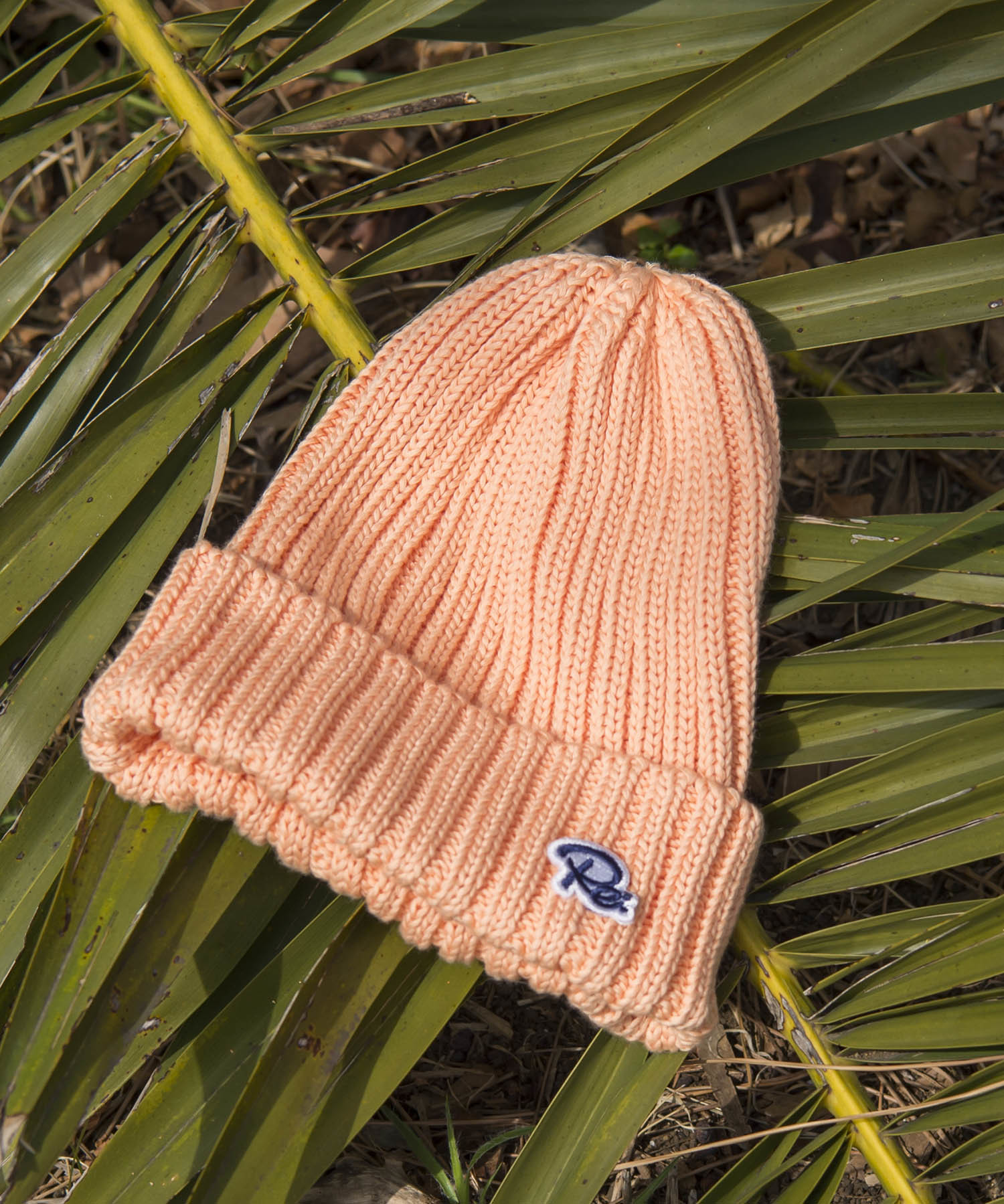 USA COTTON Re PATCH KNIT CAP[REH056]