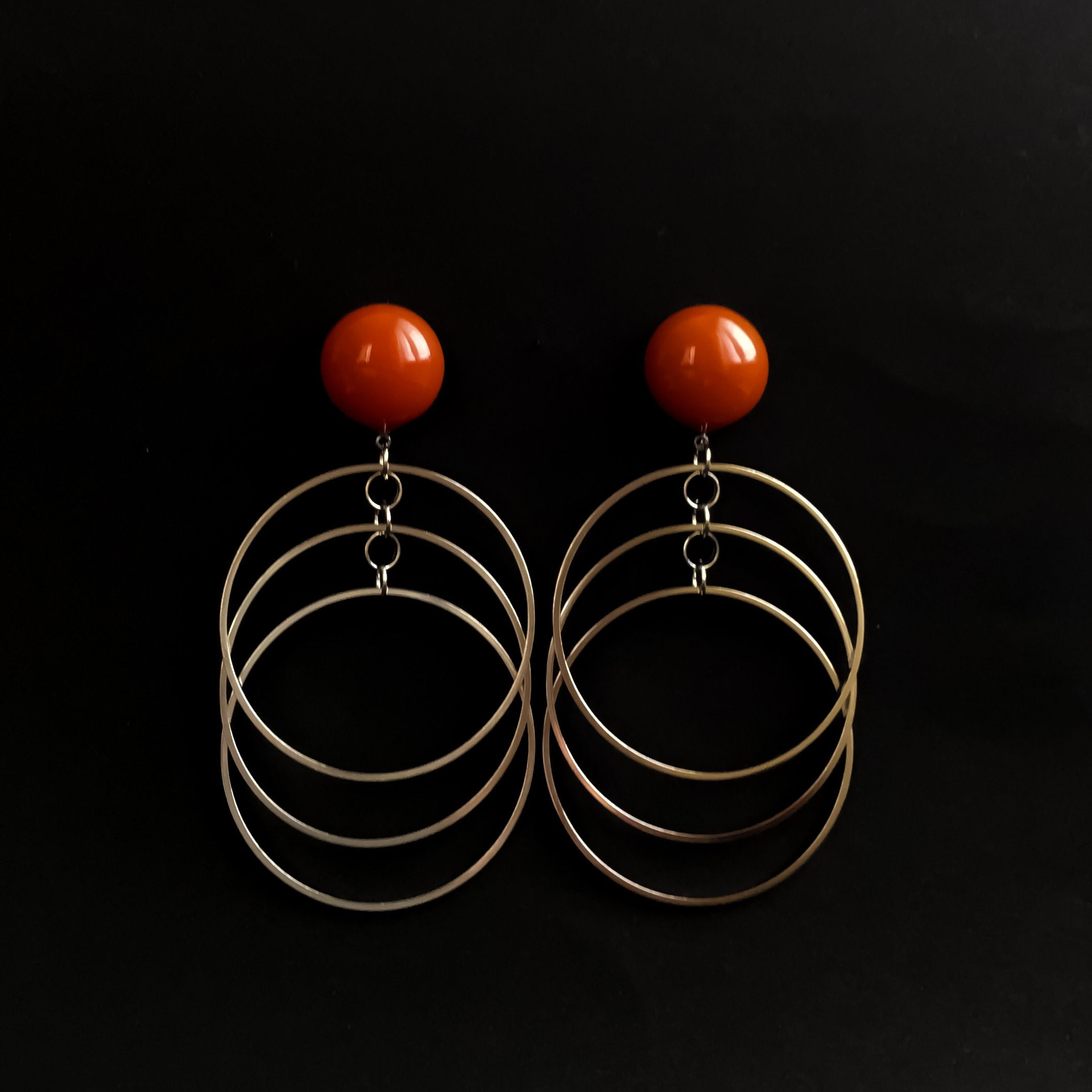 E-38pierce/earring(orange)
