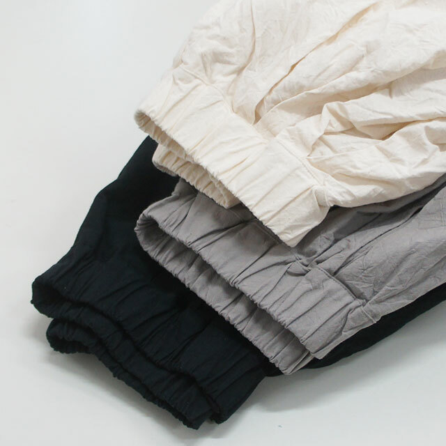 NARU ナル シーチングハンドワッシャーワイドパンツ レディース パンツ ワイド ロング 無地 ゆったり 体型カバー 通販 (品番633815)
