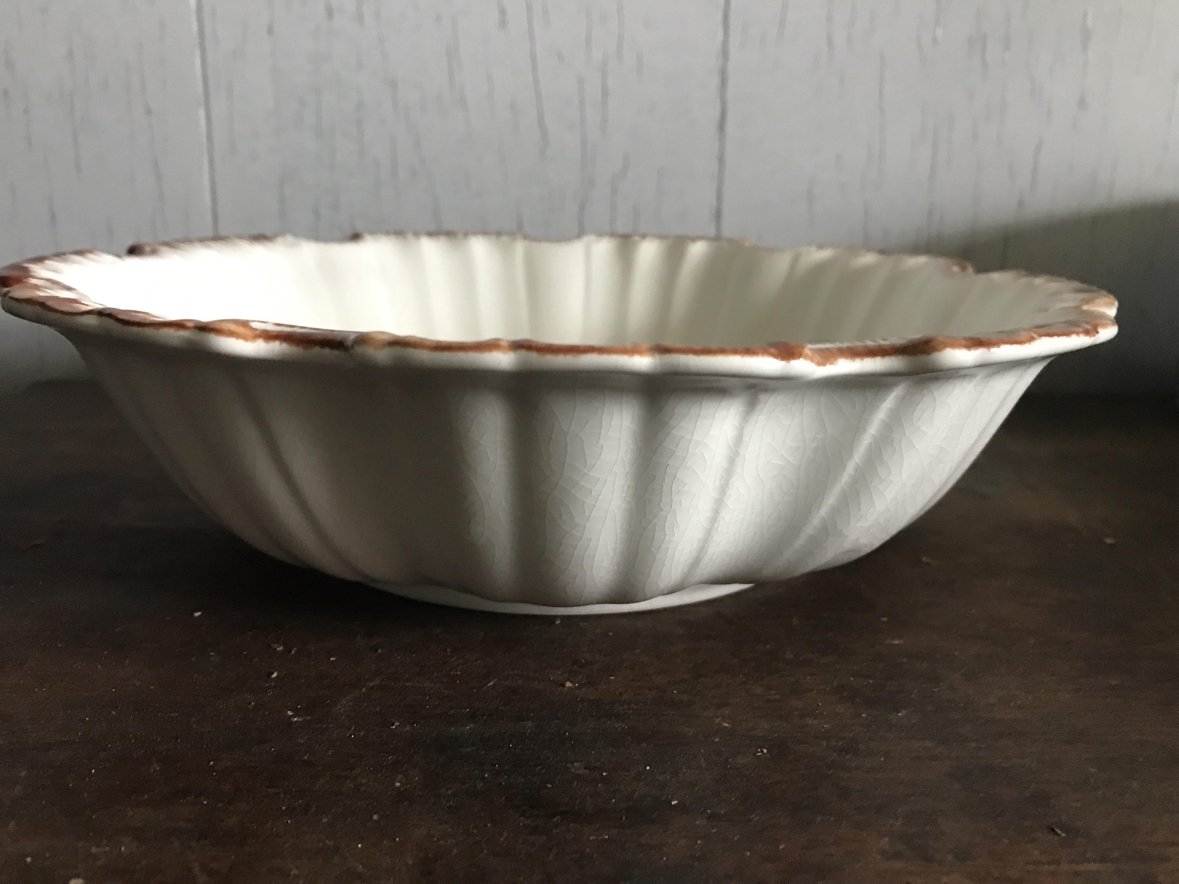 どんぐり柄の鉢