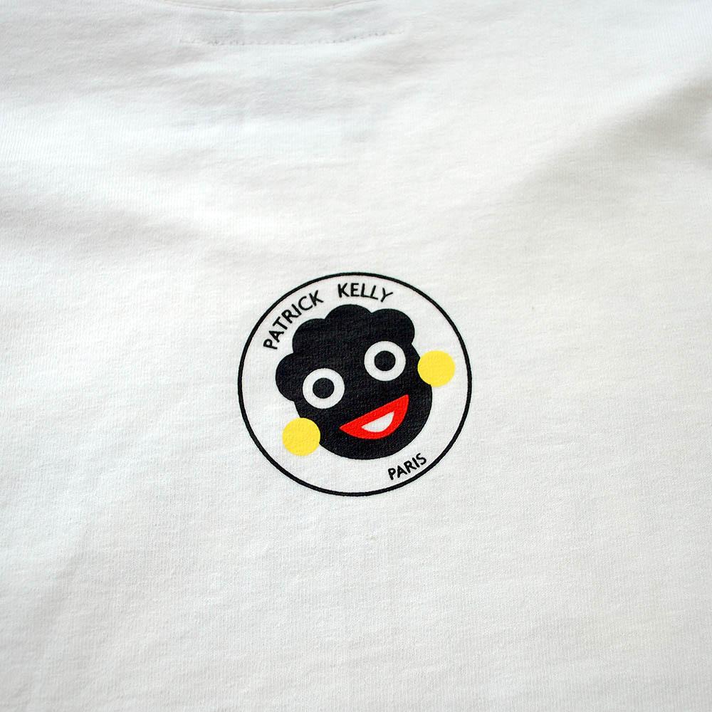 Patrick kelly face logo tee excubeeshop 855e85303062e72f53c9b2c244d3b2f8g voltagebd Choice Image