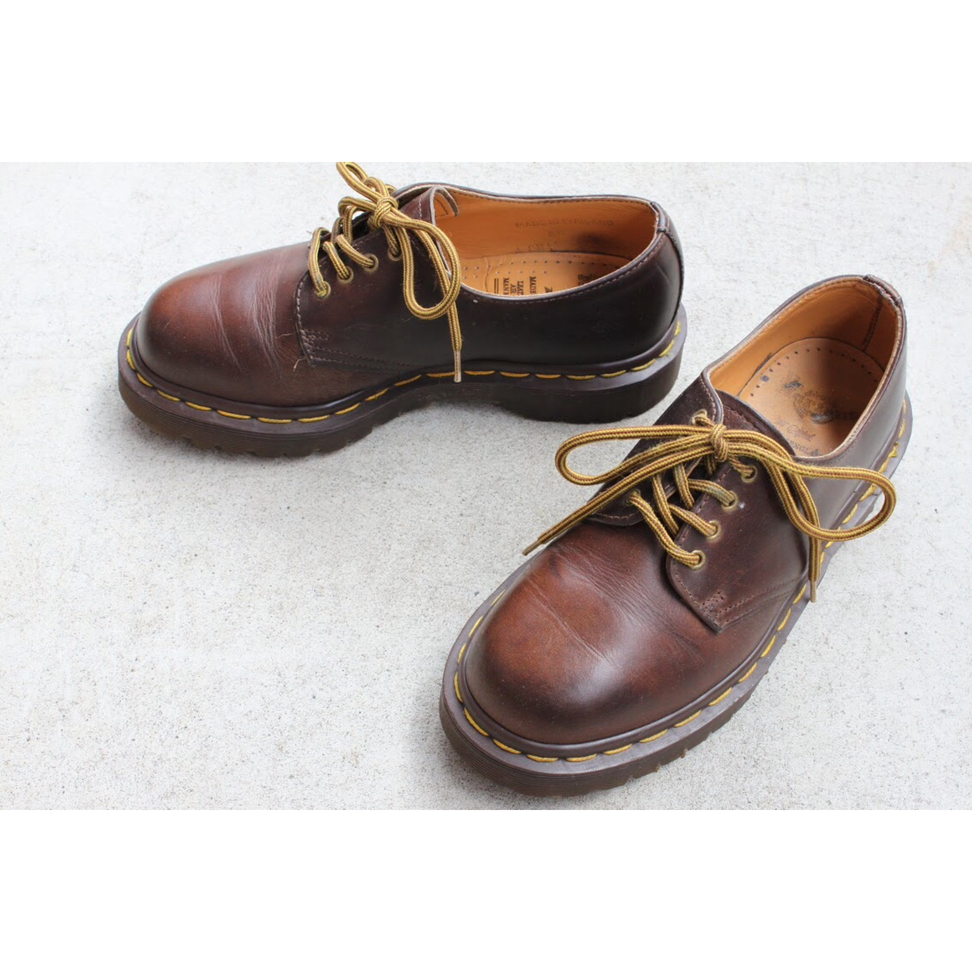 Dr. Martens 4 hole shoes Made in England size 3