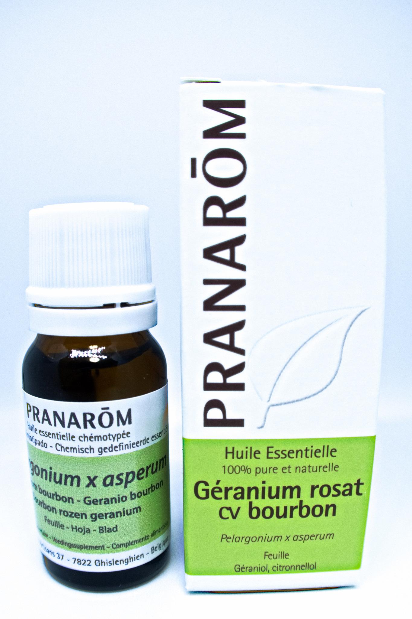 プラナロム ゼラニウム・ブルボン 10ml (PRANAROM Geranium rosat cv bourbone)
