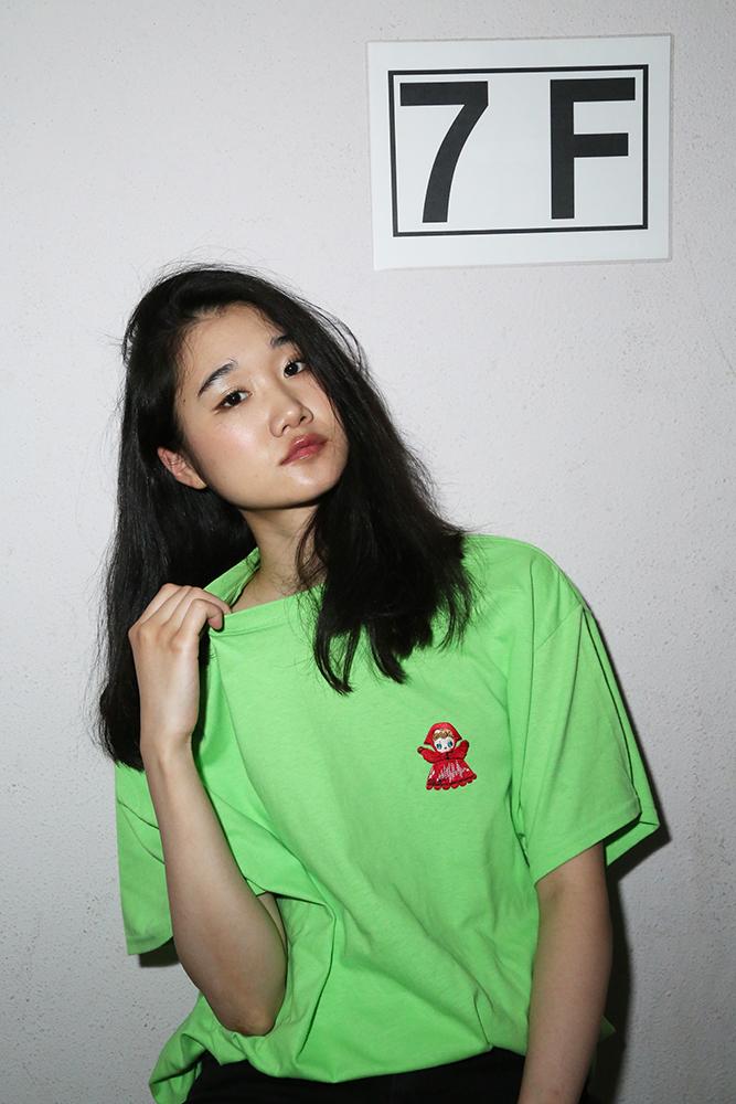 PUPPET Collection BIG T-Shirt (ライム)  / RADIO EVA