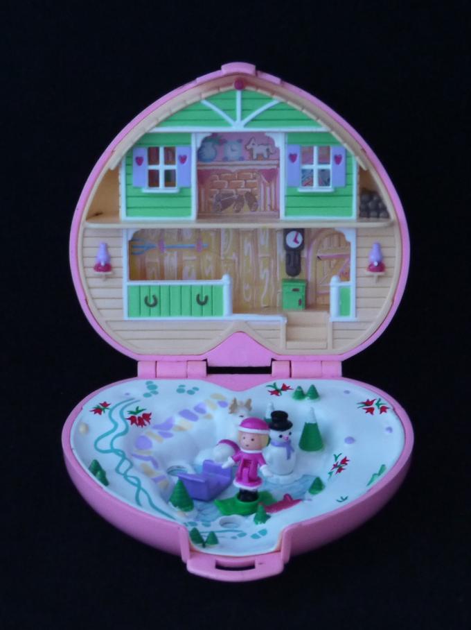 ポーリーポケット 冬の別荘 完品 1989年