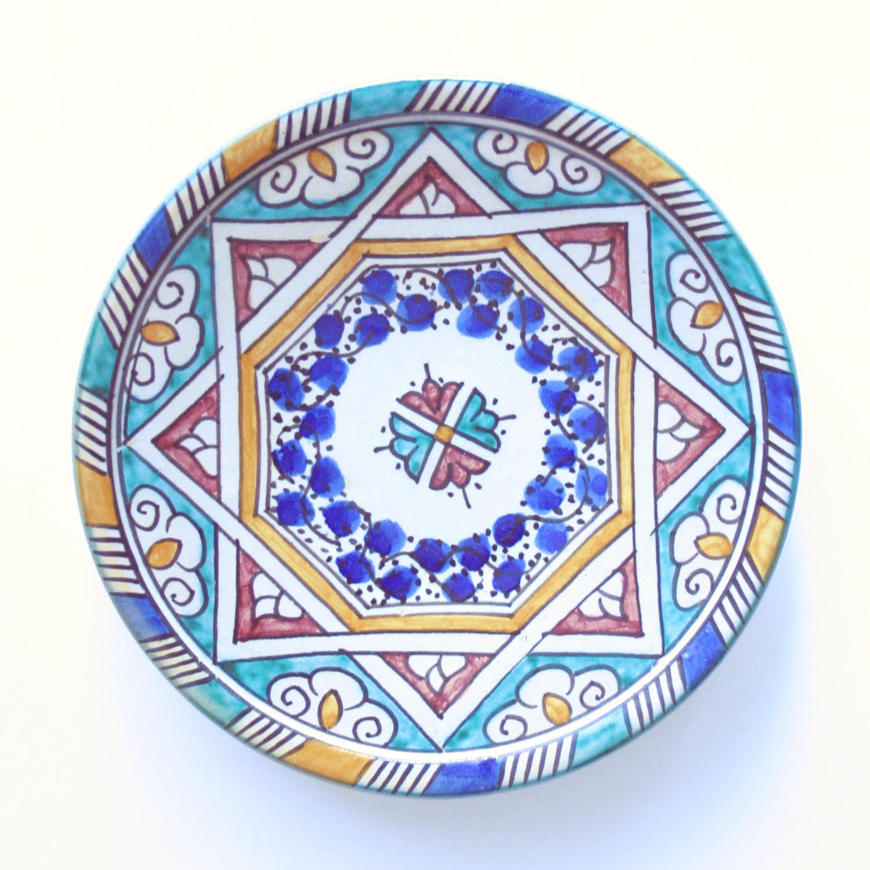 プレート皿/37a/フェズ/MOROCCO モロッコ