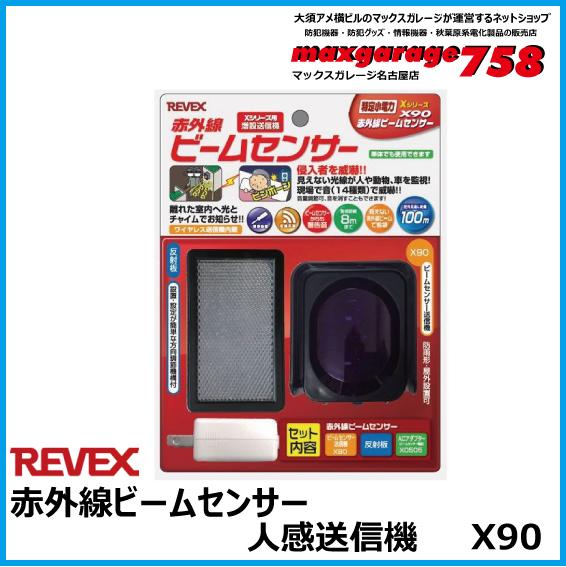 増設用赤外線ビームセンサー送信機 X90