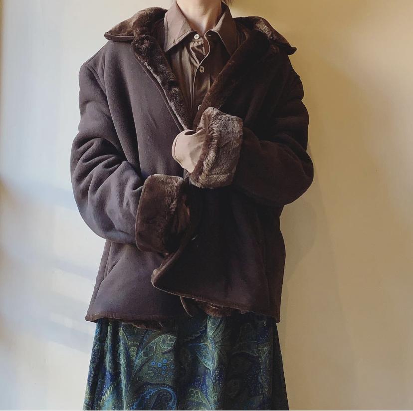 vintage oversized design coat