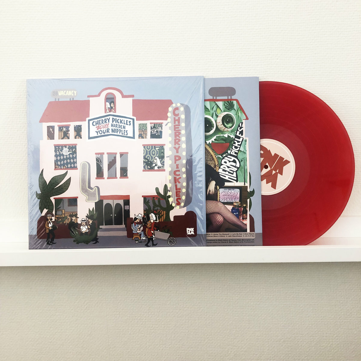 Cherry Pickles / Cherry Pickles Will Harden Your Nipples(300 Ltd LP)