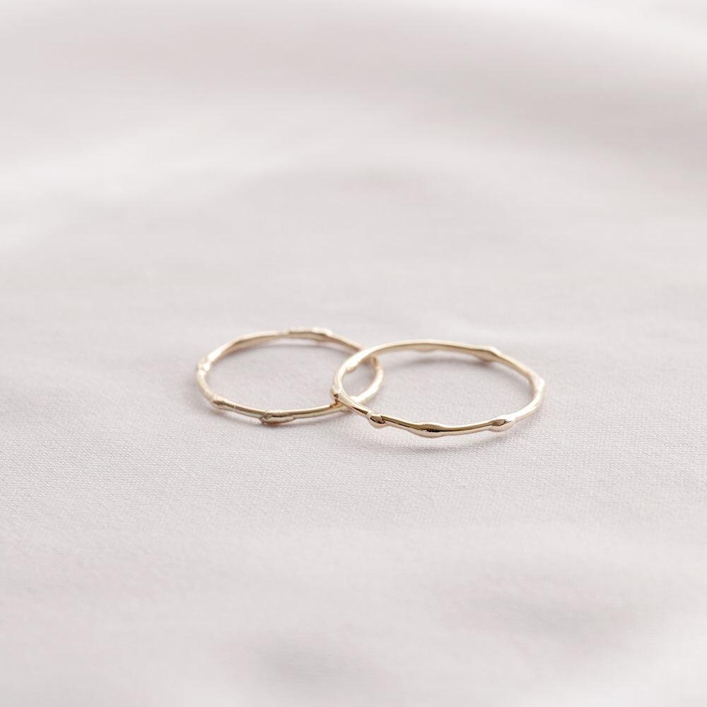 Melt / Ring - gold10k
