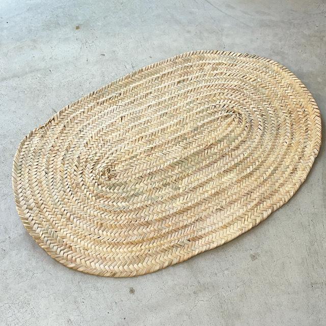 モロッコ 椰子ナチュラルマットw約82cm×55cm