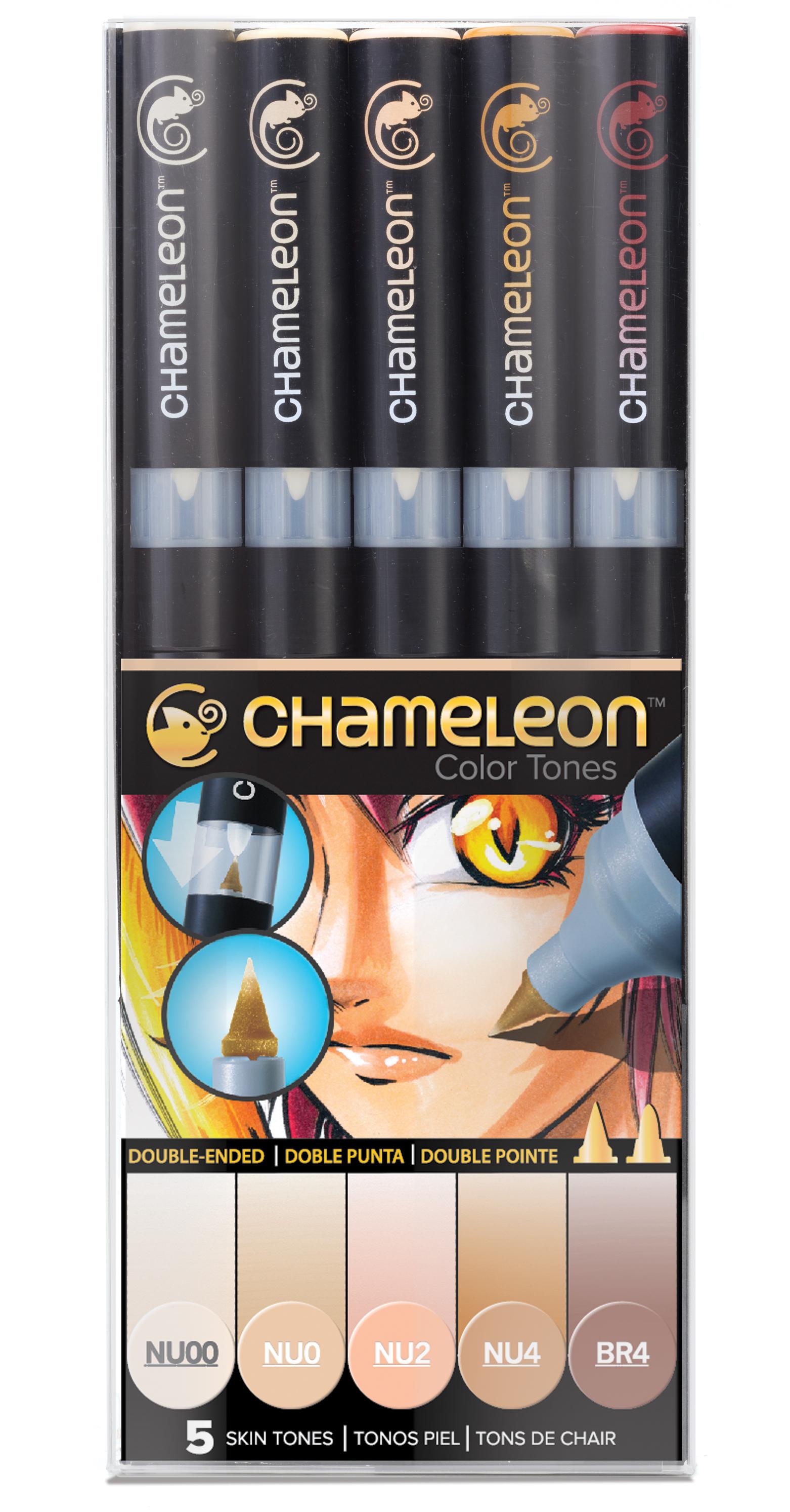 Chameleon Pen 5 Pen Skin Set (カメレオンペン 5本入りスキンセット)