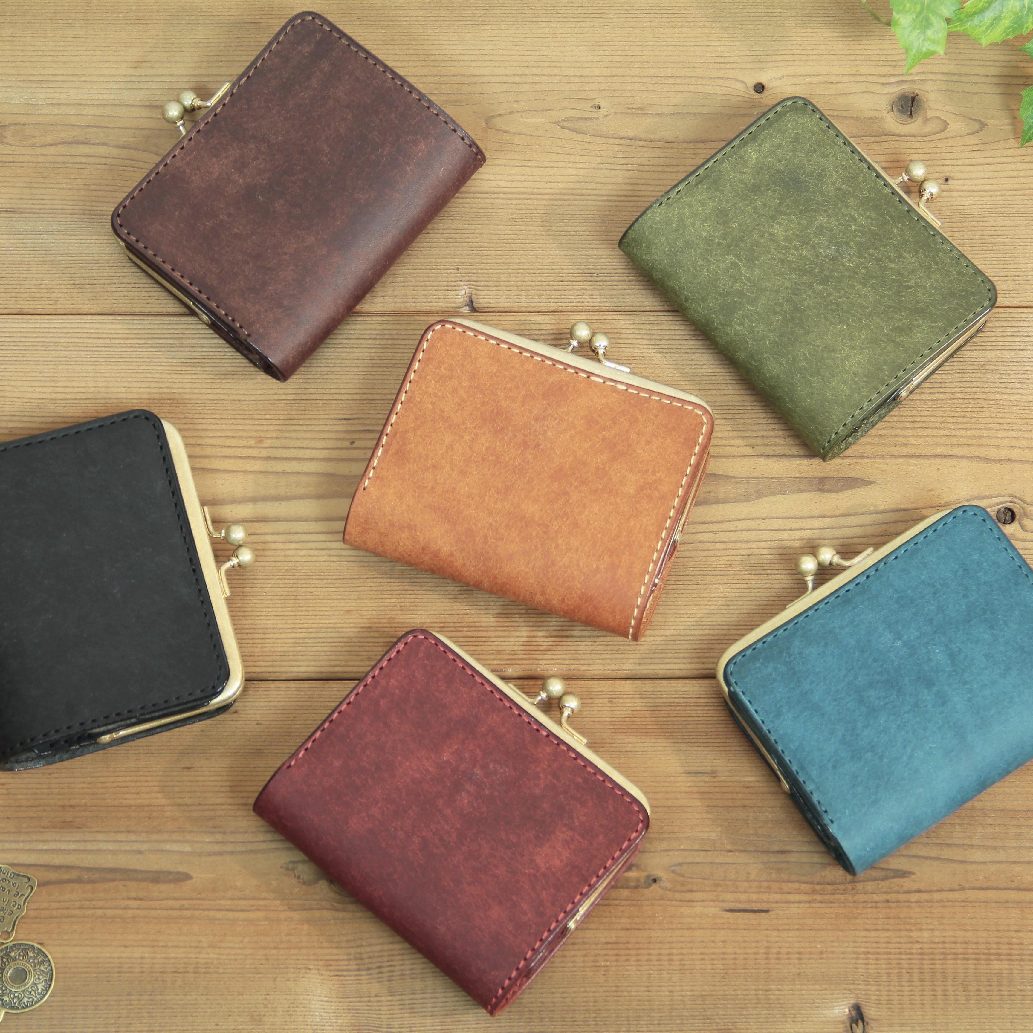 【新作】小さいがま口財布 / 各色 【備考欄に希望の色を記入】