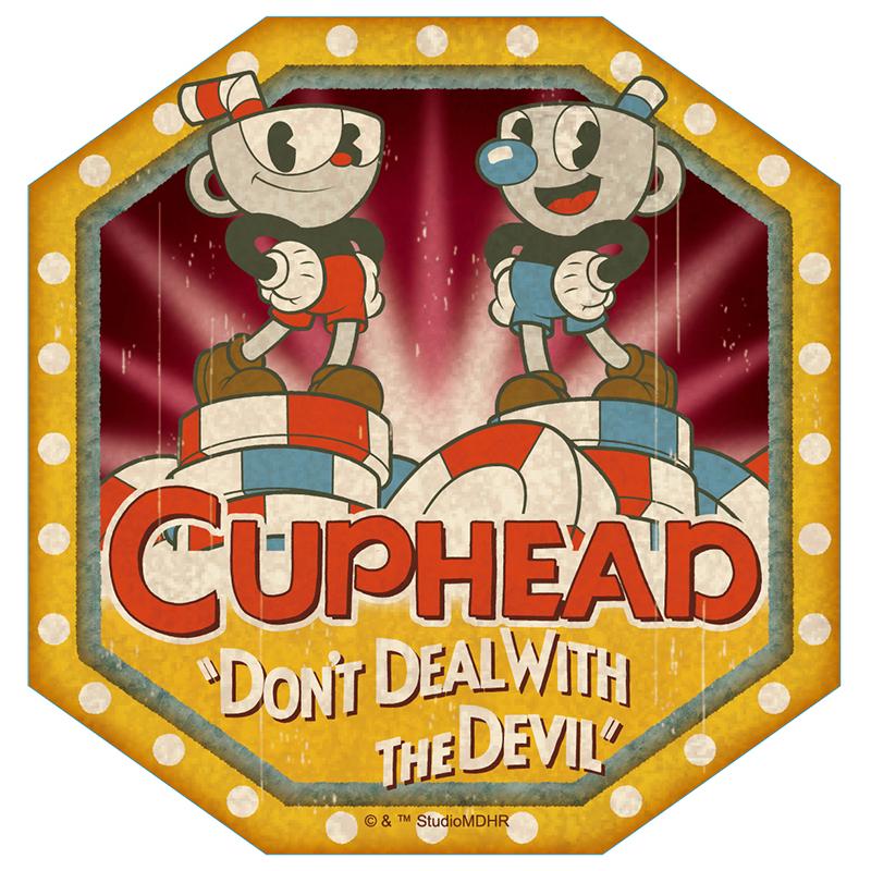 CUPHEAD ( カップヘッド ) トラベルステッカー① / エンスカイ