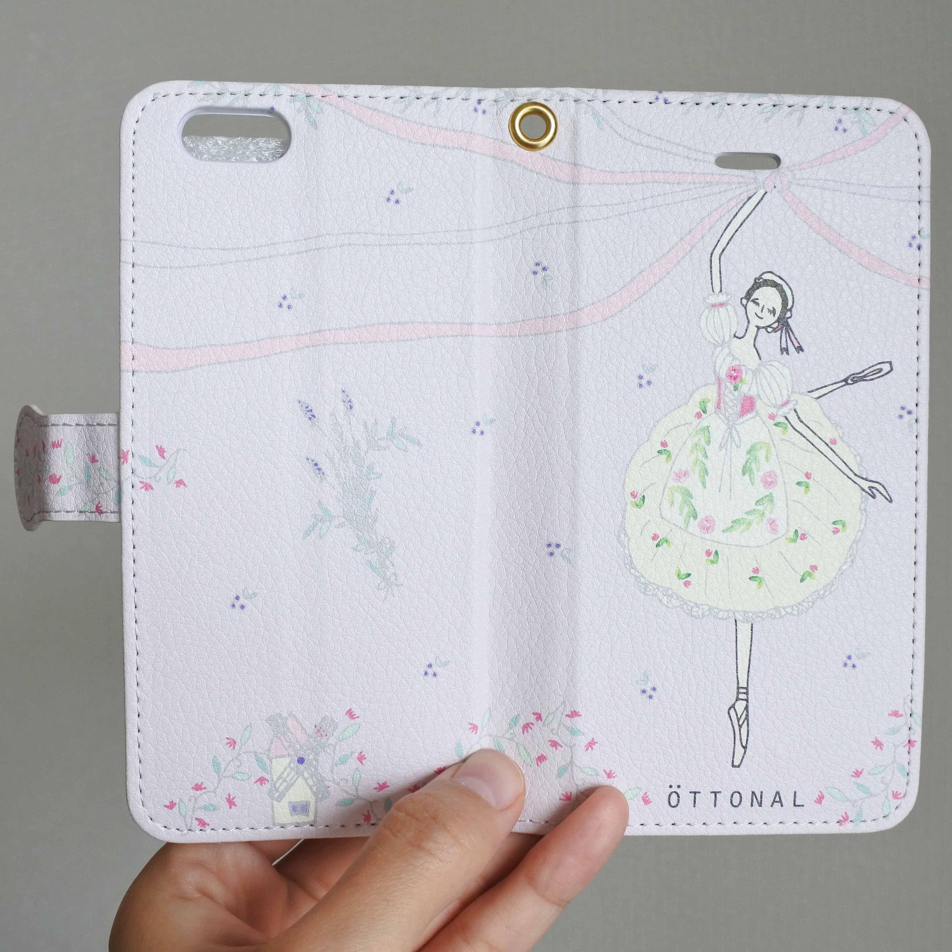(iPhone)リーズの結婚 手帳型スマホケース - 画像2