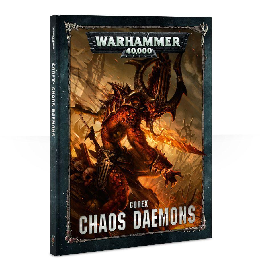 【20%OFF!】Codex: Chaos Daemons(英語版・8版)