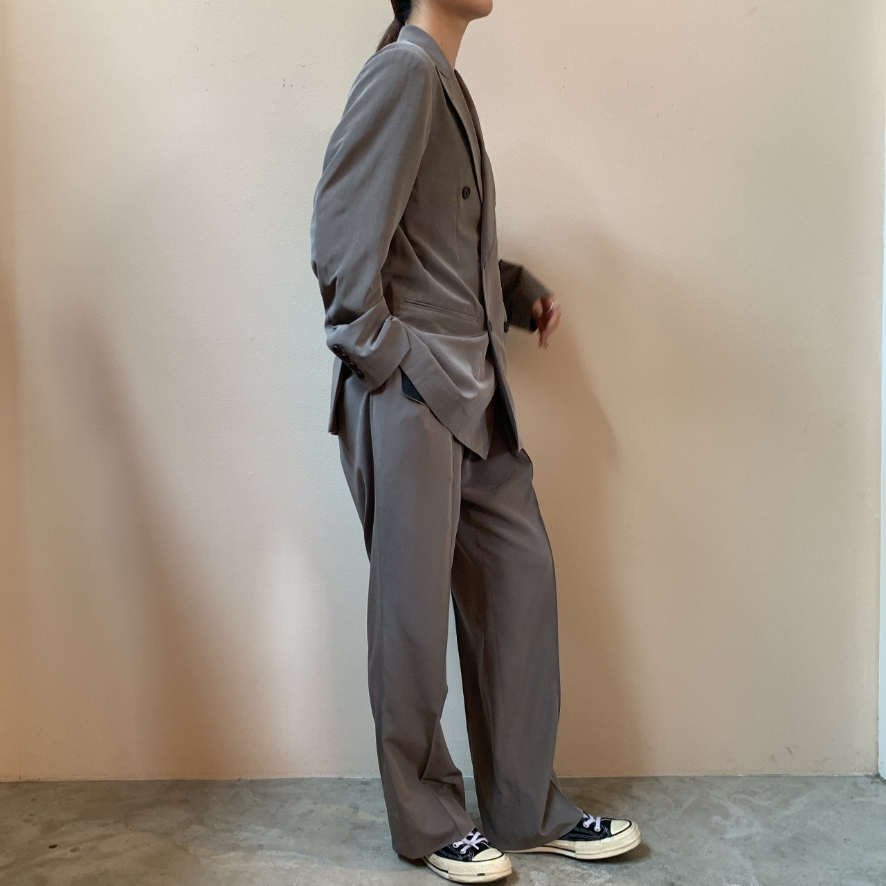 RAINMAKER - WIDE TROUSERS