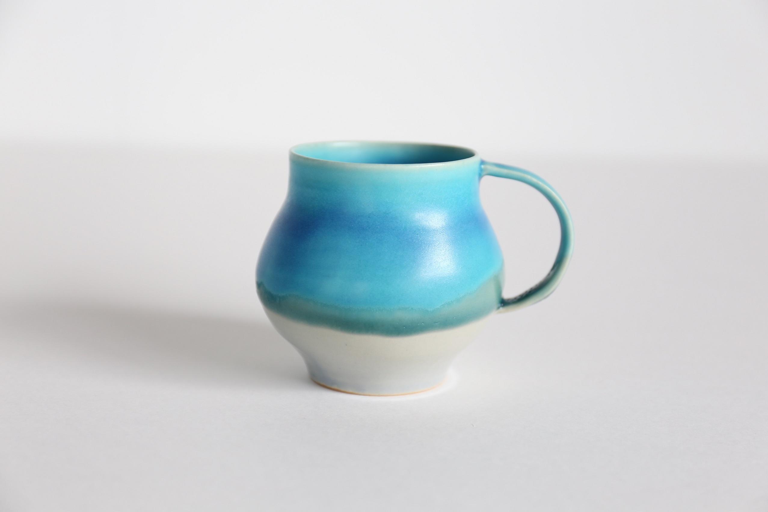 wakako ceramics/坂本和歌子  とってつき花器