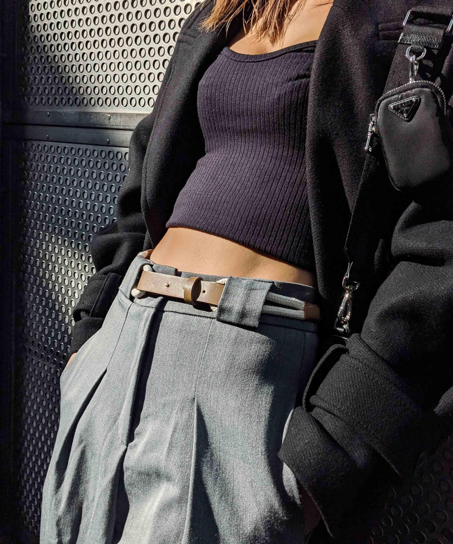 Slim lope belt