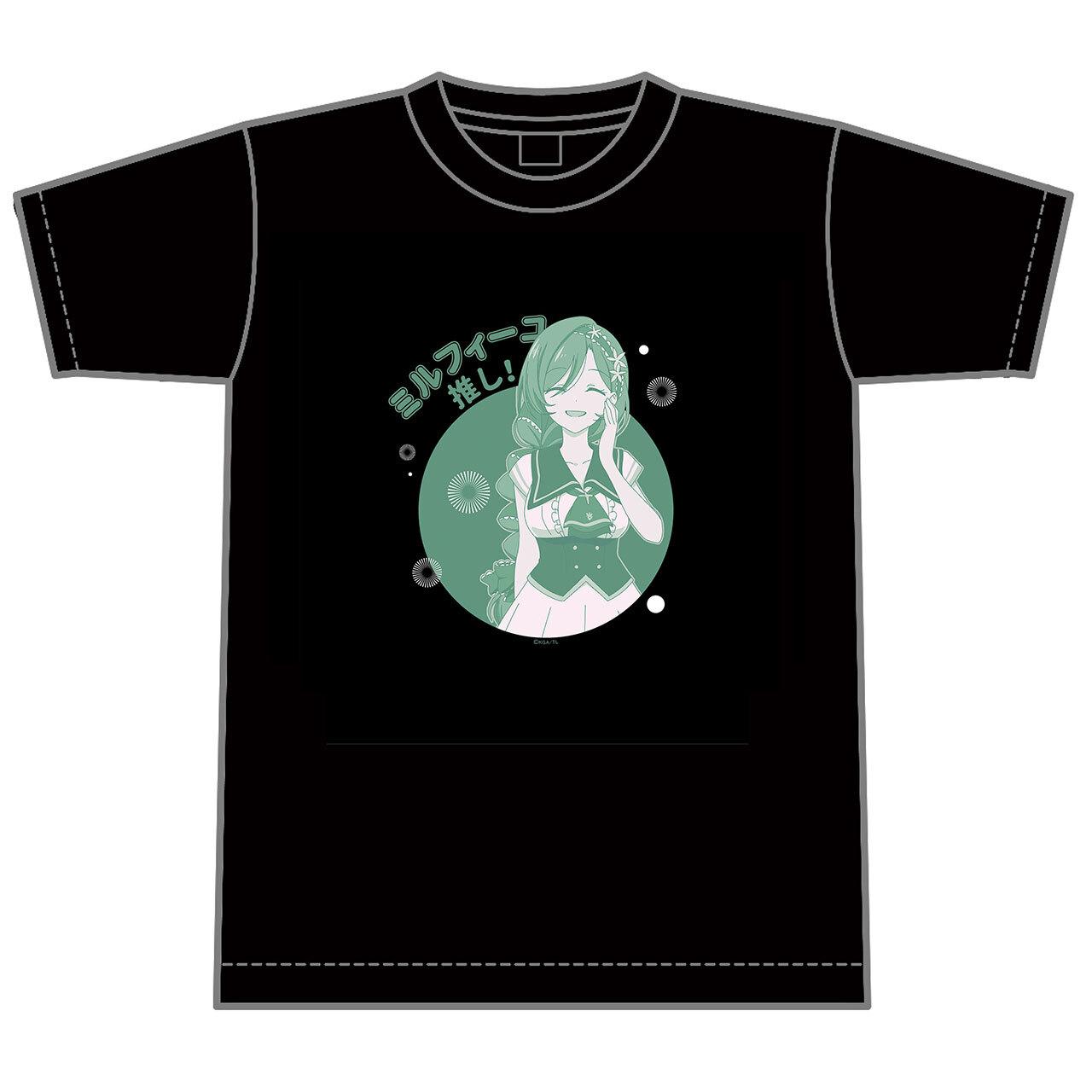 【4589839355247予】ラピスリライツ ミルフィーユ 推しTシャツ/Mサイズ