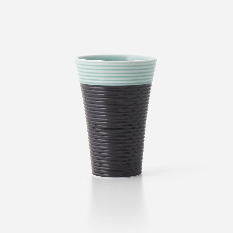青磁黒彩 フリーカップ(小)
