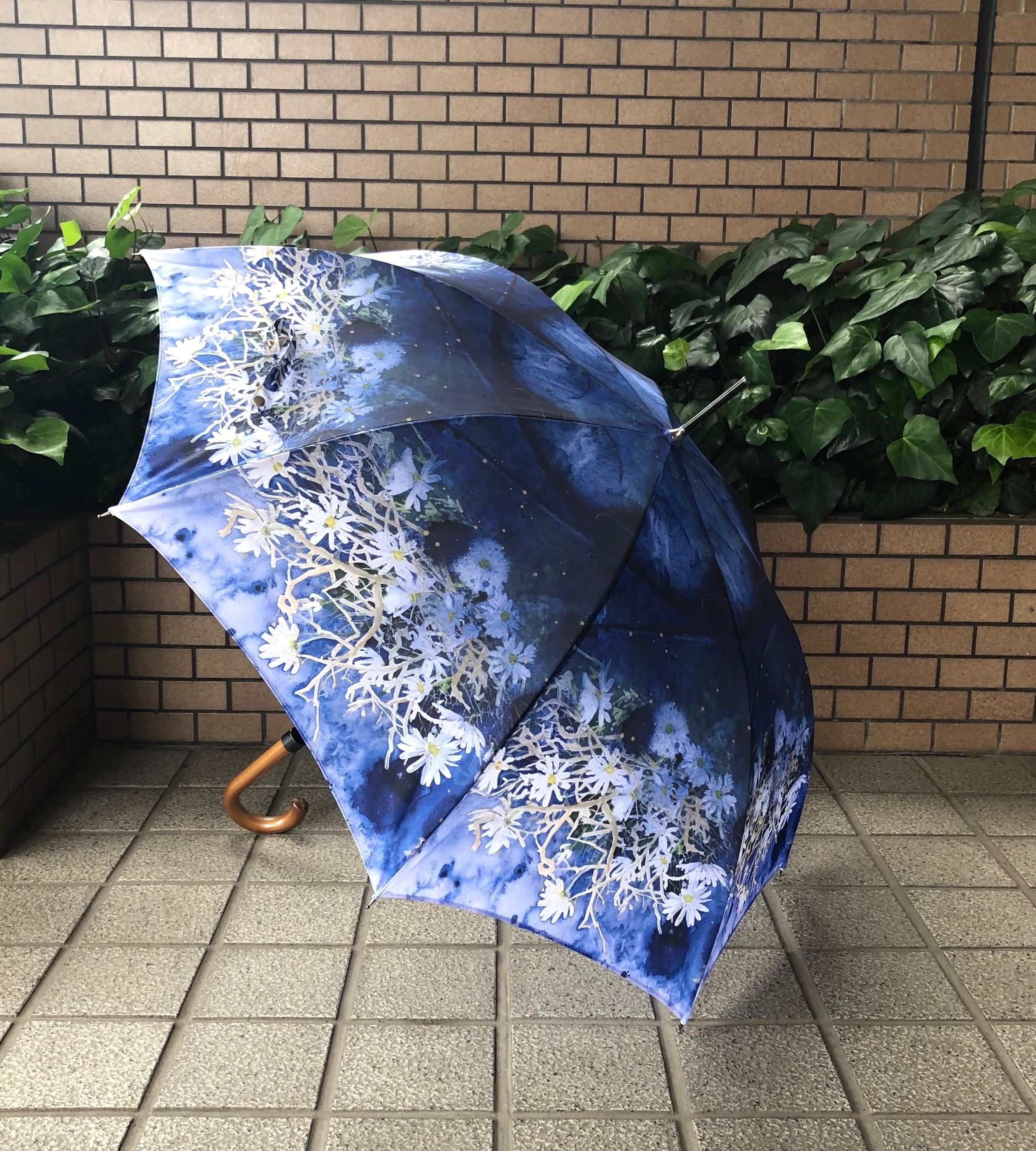 【受注生産】柘植彩子オリジナル雨傘「海の底で見る夢」