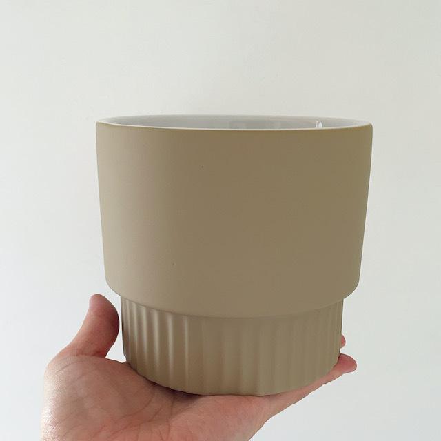 "ceramic pot FARM ""Elma 13B "" 鉢カバー"