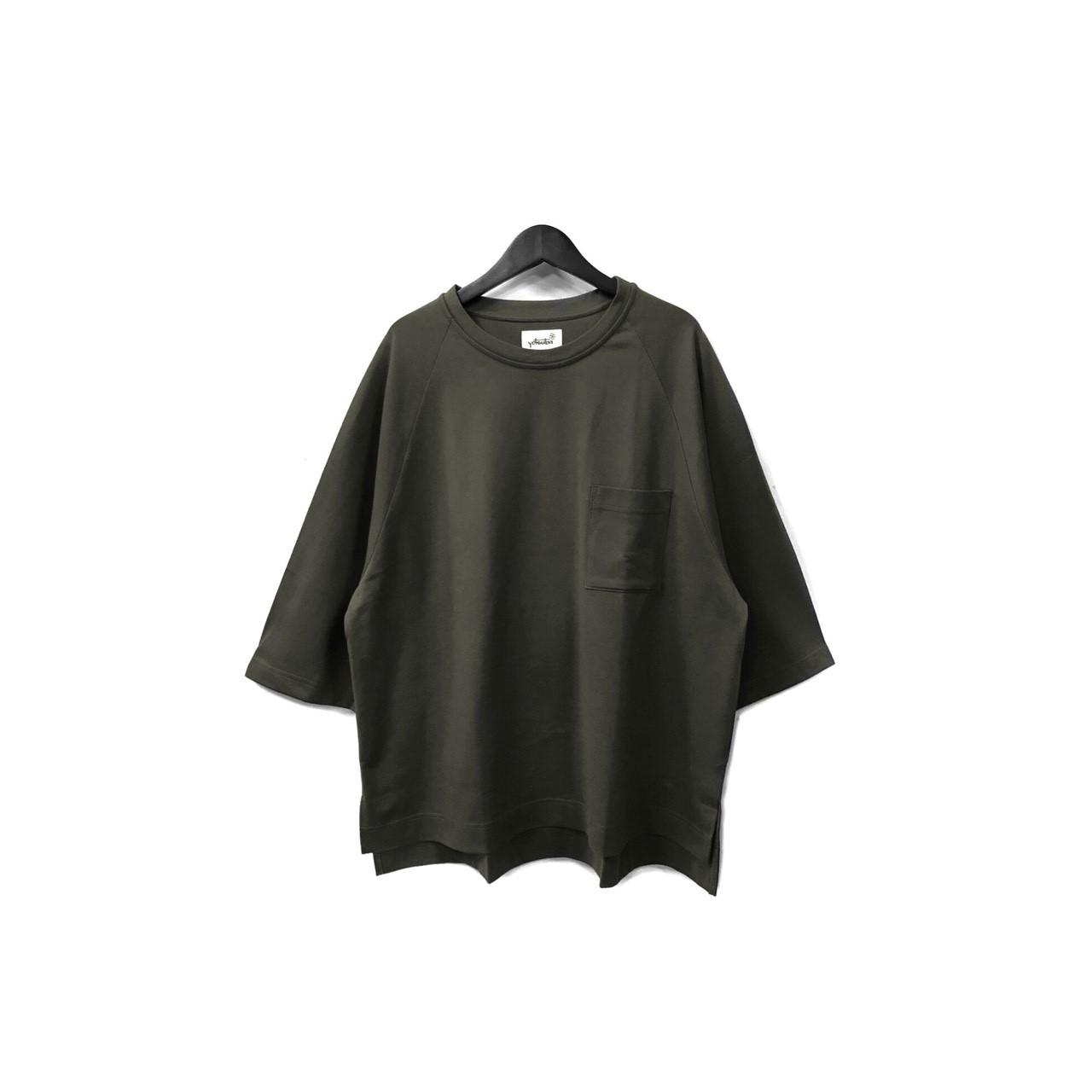 yotsuba - Raglan Pocket Tee / BLACK ¥8500+tax