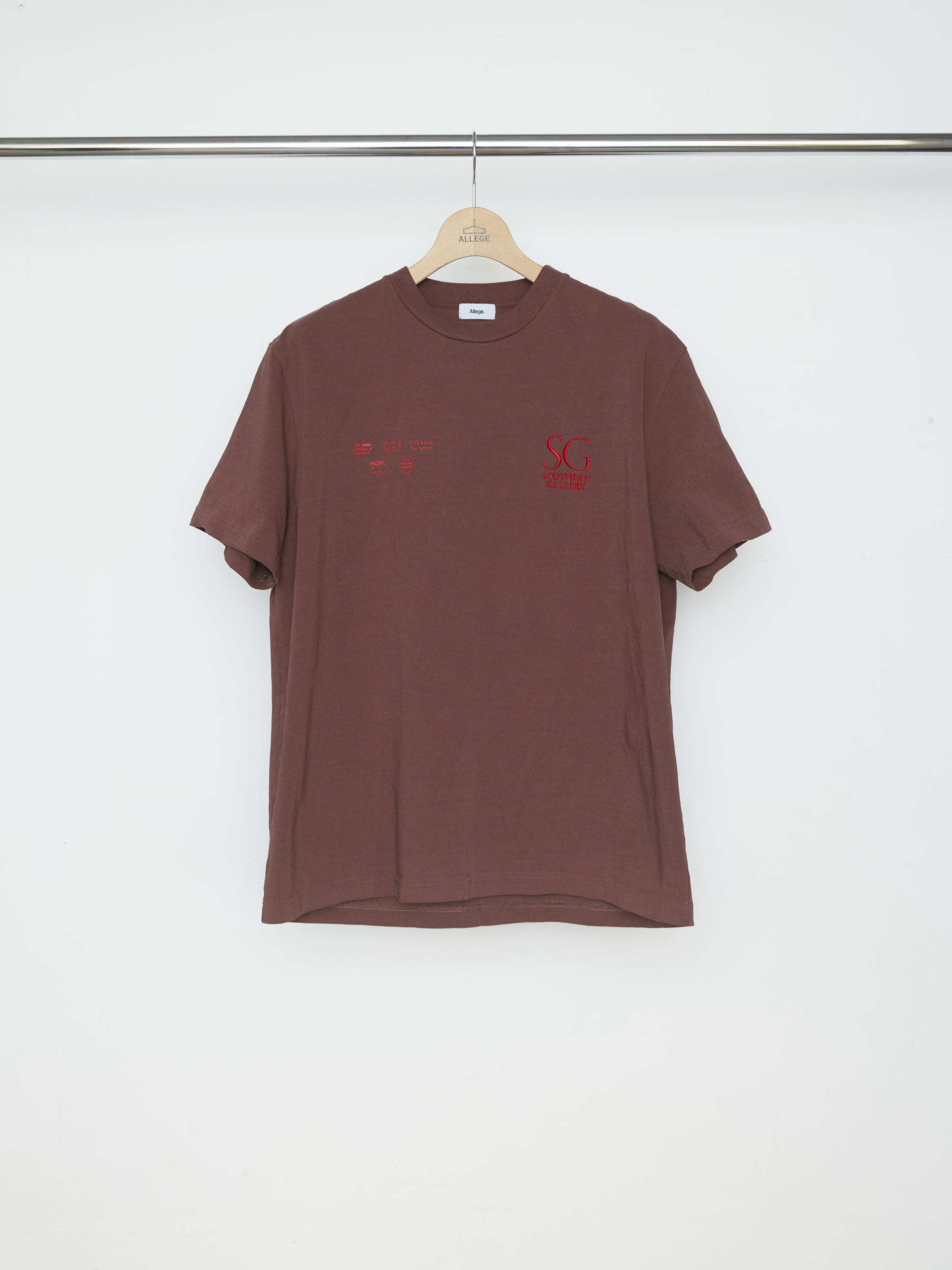 SOUTHERN GALLERY TEE-BROWN