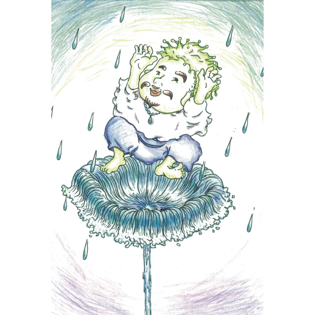 【ポストカード】雨乞いおじさん