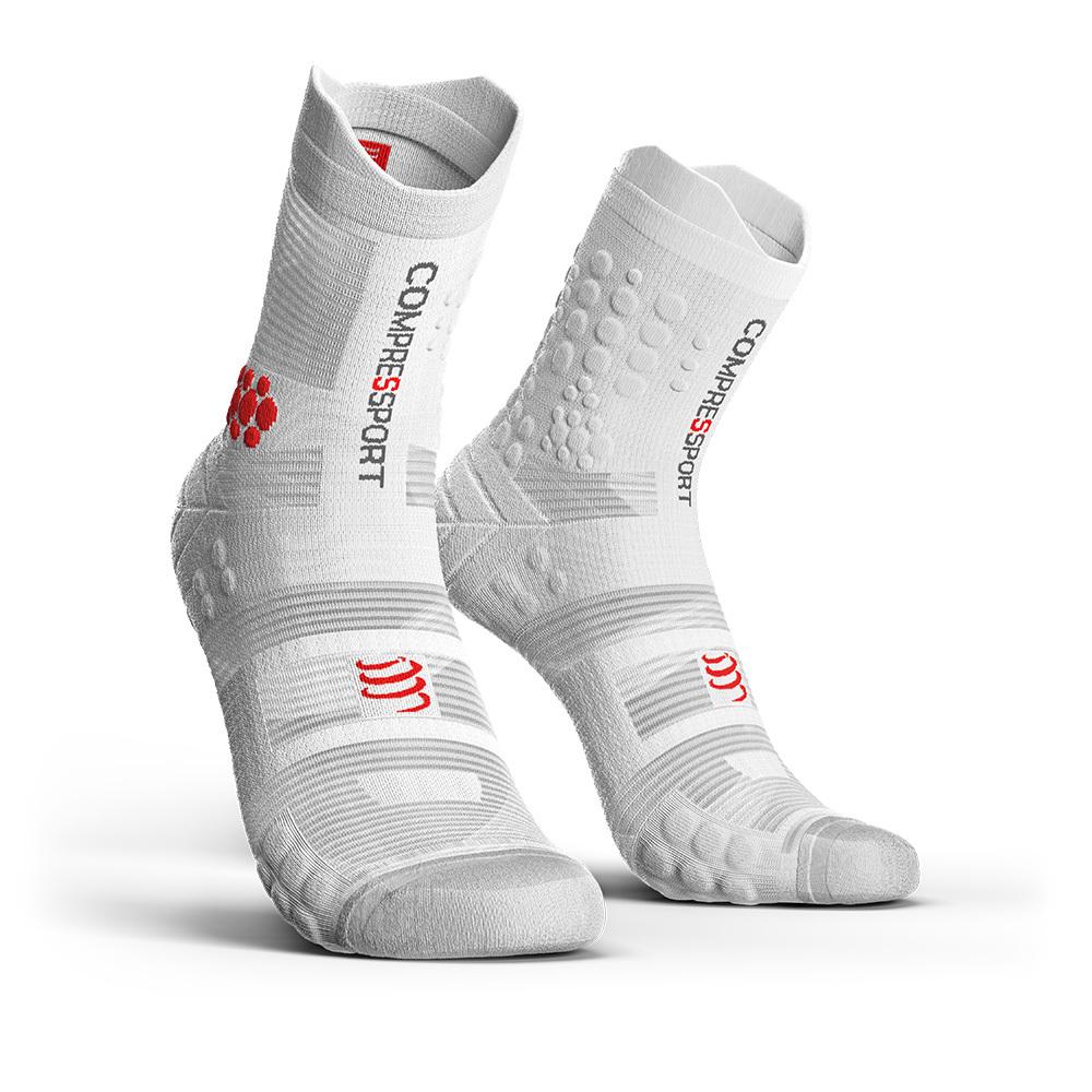 COMPRESSPORT コンプレスポーツ Pro Racing Socks v3.0 Trail プロレーシング ソックス V3.0 トレイル WHITE(ホワイト)TSHV3-0000