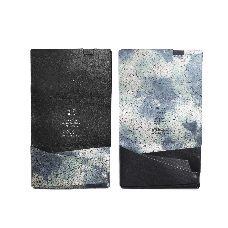 睡蓮画 フローラル(&ブラック) -カードケース-