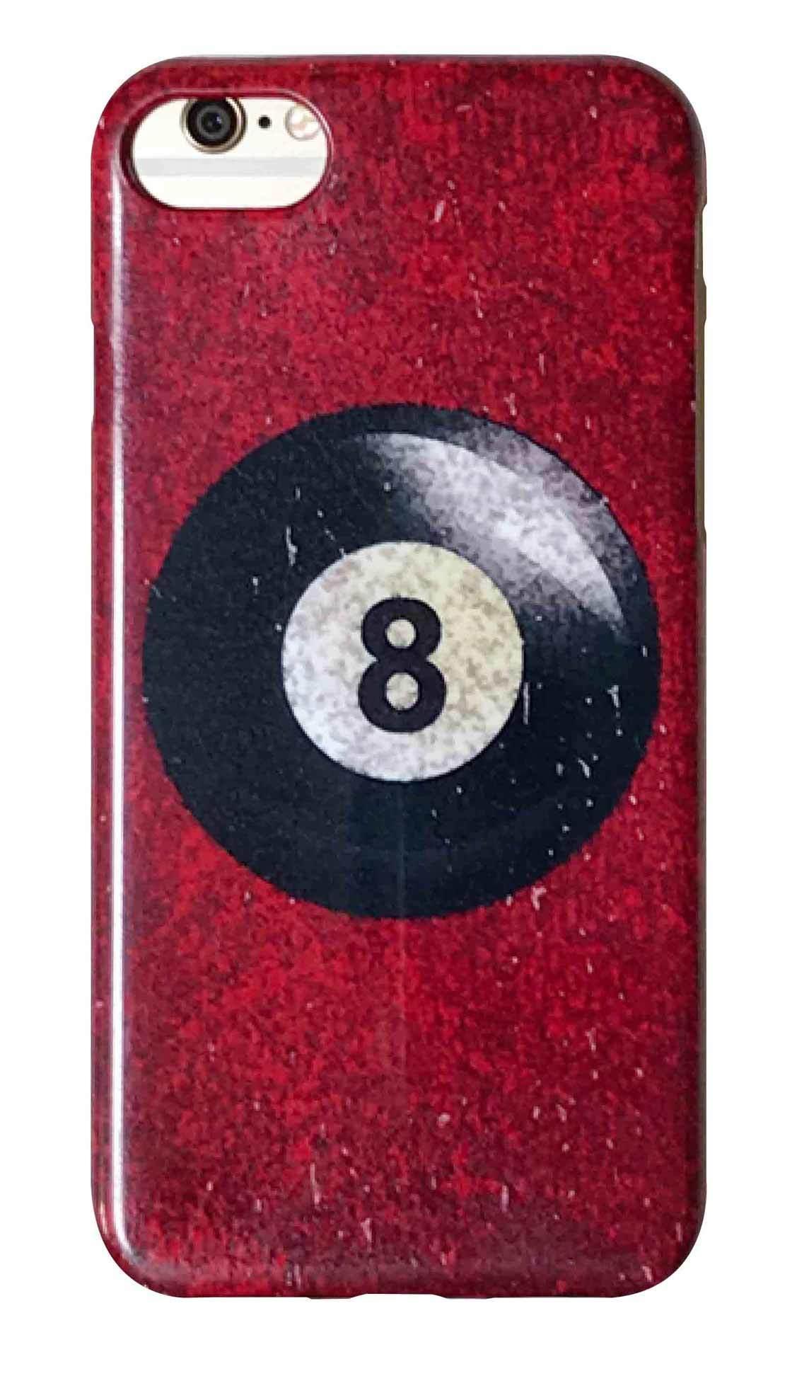 8ボール レッド つや有りハードケース