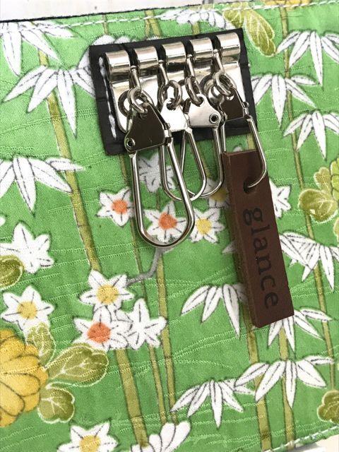 key case ( flower) antique  kimono