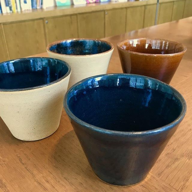 RInオリジナル スープ碗 出西窯 (在庫限りセール品)