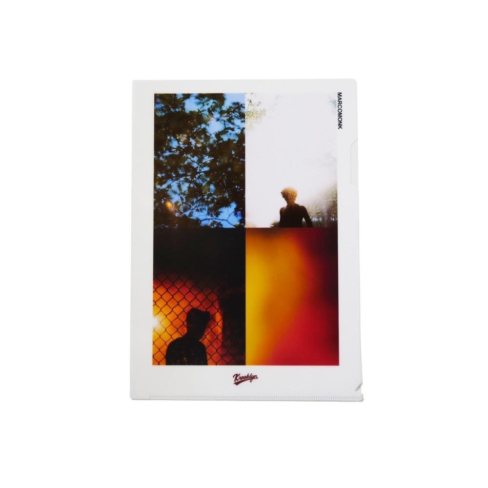 K'rooklyn × Yusuke Oishi - Clear Plastic Folder 001_Red
