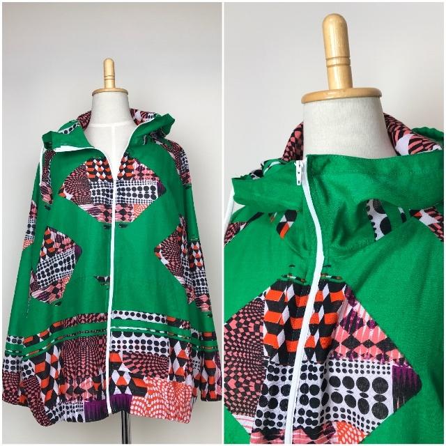 リゾートパーカー グリーン(日本縫製)