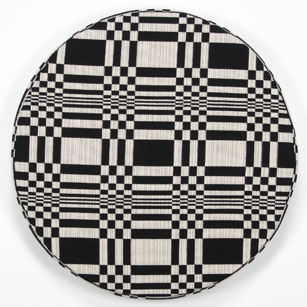 JOHANNA GULLICHSEN Disc Cushion Doris Black