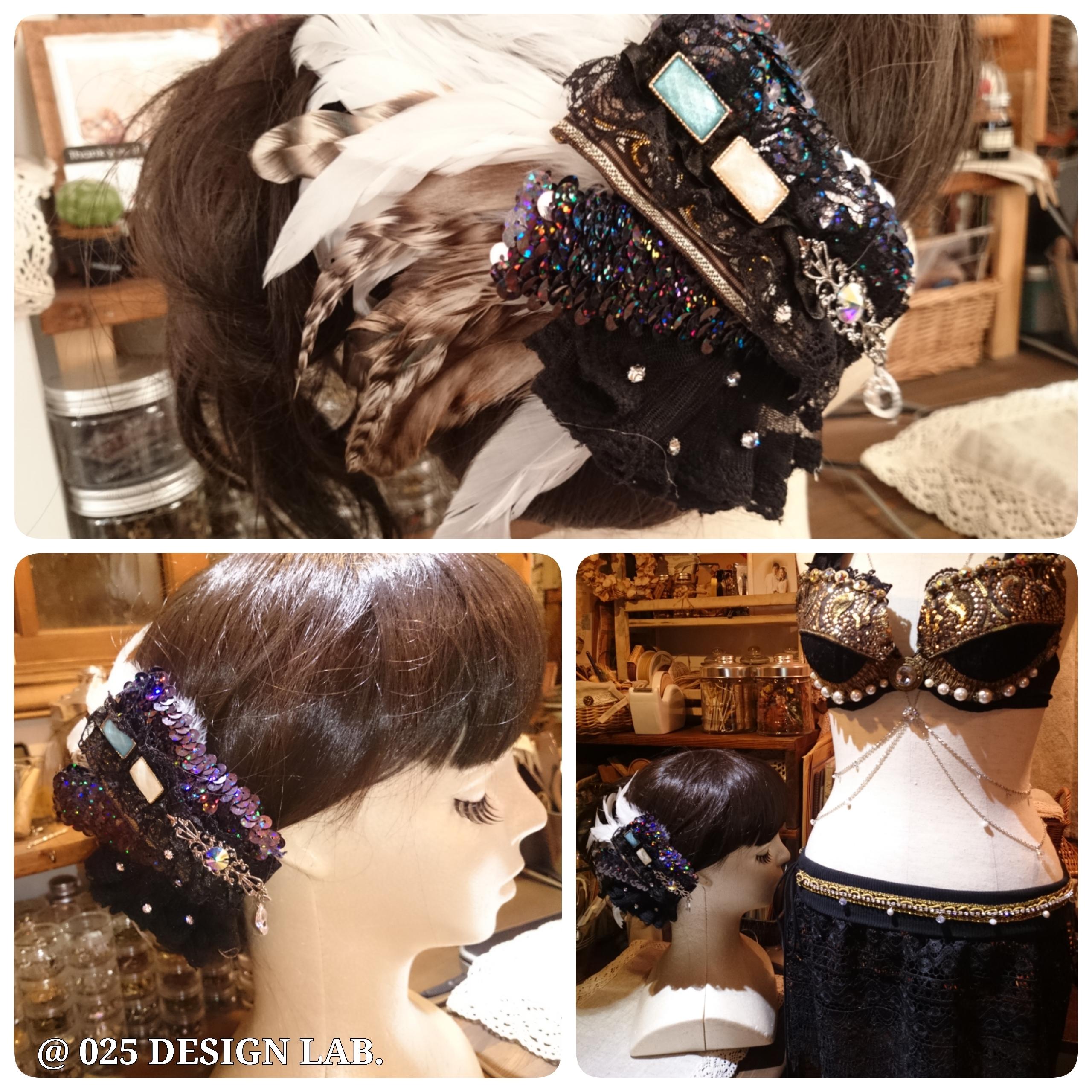 トライバル 風 ヘッドドレス / 髪飾り