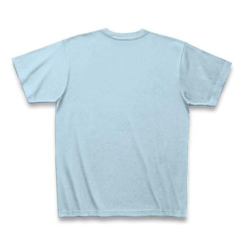 メンズTシャツ☆so what☆ライトブルー×ブルー