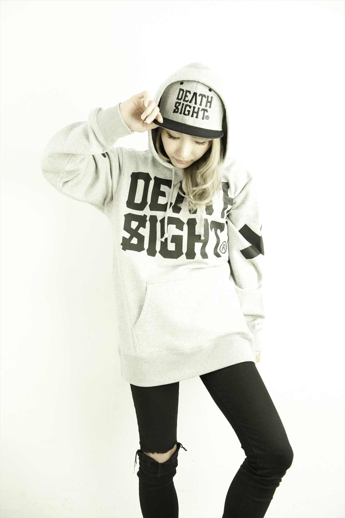 deathsight 17 Logo Cap / GRAY - 画像3
