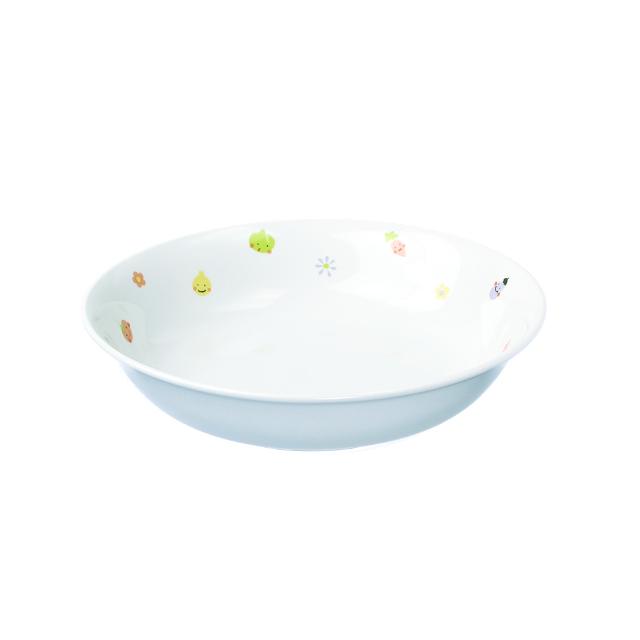 【1015-1230】強化磁器 17cm 深皿 ぷちやさい